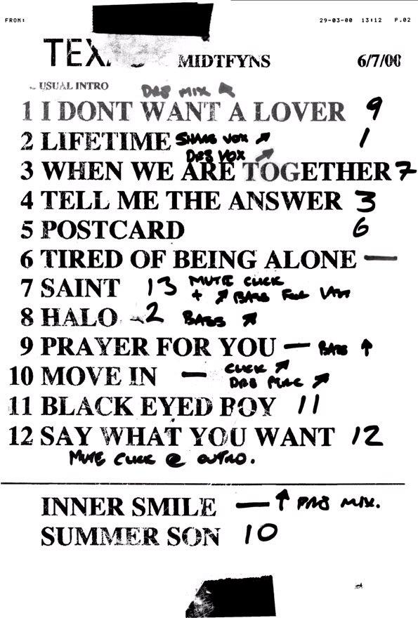 Midtfyns Festival Setlist