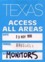 Pass Bruxelles 23/11/99