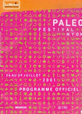 Paléo Nyon 2001