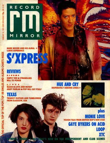 Record Mirror, 18/02/89