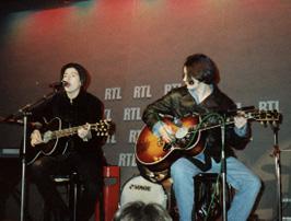Paris, RTL Studios, 22/01/92