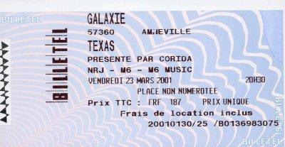 Ticket Metz 2001