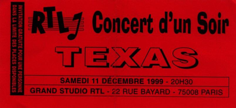 Paris, RTL 99