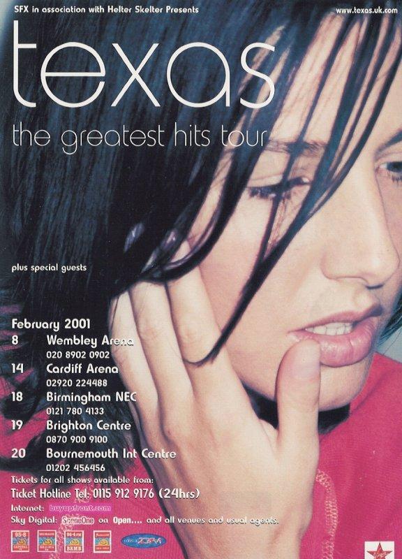 UK tour 2001
